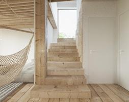 Dom nad jeziorem. - Schody, styl rustykalny - zdjęcie od Ania Masłowska