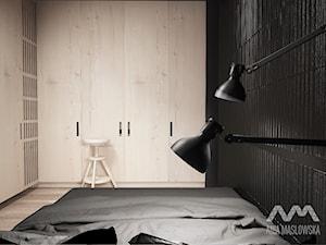mieszkanie 60 m2 - Sypialnia, styl minimalistyczny - zdjęcie od Ania Masłowska