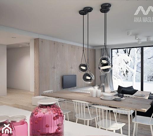 Niesamowite lampy wiszące nad stół - pomysły, inspiracje z homebook HB75