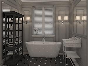 Łazienki chłodna elegancja