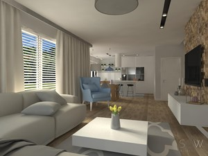 Projekt domu pod Warszawą