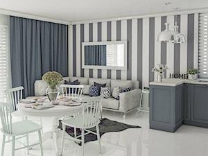Apartament w stylu Blue Marine