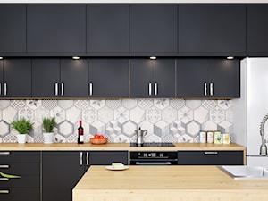 Okap kuchenny Amadio Black w nowoczesnym i przytulnym wnętrzu