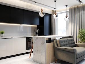 Laizeno White 60 w kuchni w stylu glamour