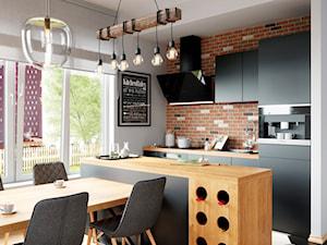 Klimatyczna Miejska Kuchnia Z Okapem Zenesor 90 Black
