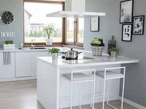 TAM I TU: okap Nomina Isola White w kuchni projektu @tam_i_tu