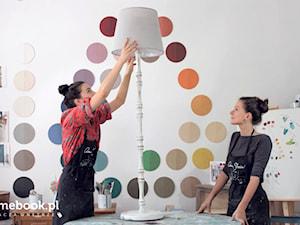 Jak zrobić lampę w stylu shabby chic? DIY