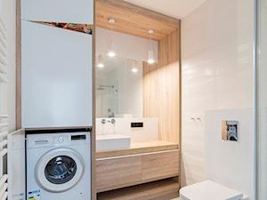 Naturalna łazienka - zdjęcie od Kokon Studio Karolina Alicja Prałat