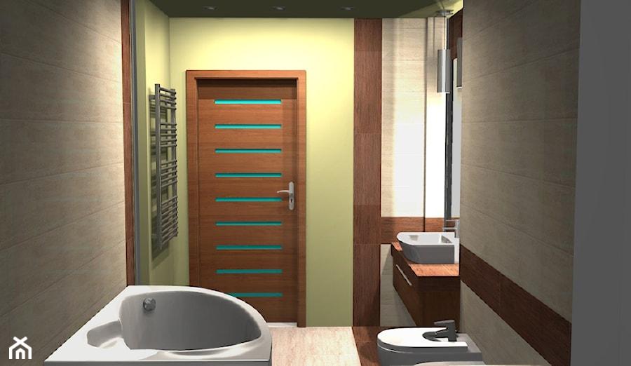 łazienka Z Elementami Drewna Zdjęcie Od Unicad Design