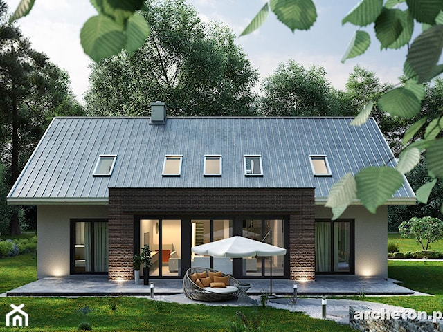 Projekt domu Linda - Archeton