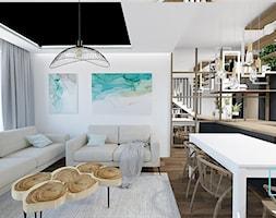 wnętrza CAMELIA - Salon, styl skandynawski - zdjęcie od MdoKwadratu - Homebook