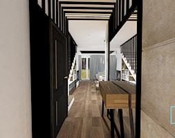 wnętrza CAMELIA - Hol / przedpokój, styl skandynawski - zdjęcie od MdoKwadratu - Homebook