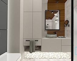 Łazienka, styl minimalistyczny - zdjęcie od MdoKwadratu - Homebook