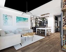 wnętrza CAMELIA - Salon, styl nowoczesny - zdjęcie od MdoKwadratu - Homebook