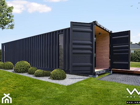 Aranżacje wnętrz - Domy: Kontener - dom mieszklany B15 - Domy, styl nowoczesny - WMA Design. Przeglądaj, dodawaj i zapisuj najlepsze zdjęcia, pomysły i inspiracje designerskie. W bazie mamy już prawie milion fotografii!