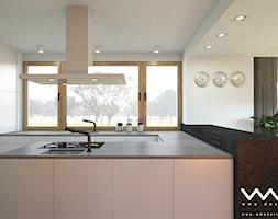 projekt wnętrz domu   Warszawa - Kuchnia, styl nowoczesny - zdjęcie od WMA Design - Homebook