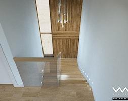 projekt wnętrz domu   Warszawa - Schody, styl nowoczesny - zdjęcie od WMA Design - Homebook