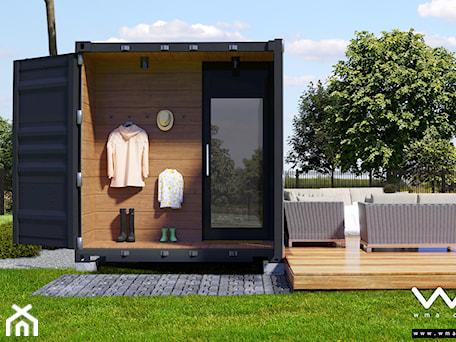 Aranżacje wnętrz - Domy: Kontener - dom mieszkalny B15 - WMA Design. Przeglądaj, dodawaj i zapisuj najlepsze zdjęcia, pomysły i inspiracje designerskie. W bazie mamy już prawie milion fotografii!