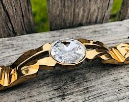 Uchwyt meblowy z kryształem Swarovskiego - zdjęcie od Green Valley Meble Premium - Homebook