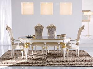 Klasyczne stoły do eleganckiej jadalni