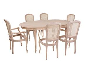 Drewniane stelaże krzeseł stylowych