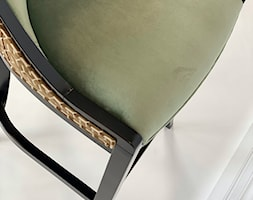 zielono oliwkowy hoker barowy - zdjęcie od Green Valley Meble Premium - Homebook