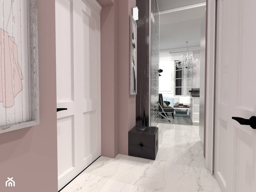 Mieszkanie W Stylu Francuskim Z Nuta Glamour Hol