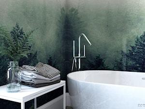 5 fototapet do łazienki inspirowanych naturą