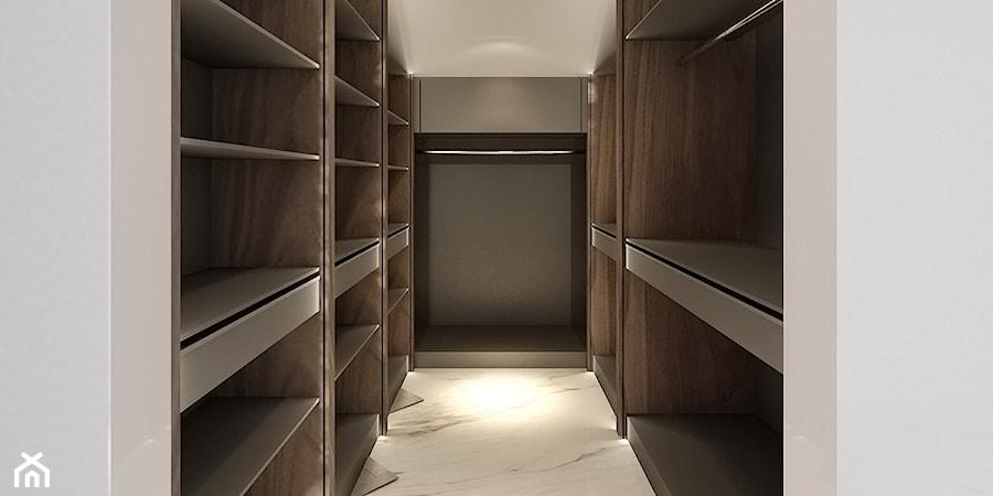 MOCO / Klasyka w nowoczesnej formie. - Garderoba, styl nowojorski - zdjęcie od Architekt Rafał Leśniczak   Ekskluzywne Projekty Wnętrz   Poznań   Polska