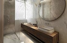 Łazienka styl Nowojorski - zdjęcie od MOCO Architecture