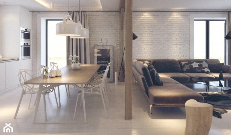 Projekt Wnętrz w stylu skandynawskim - zdjęcie od Architekt Rafał Leśniczak   Ekskluzywne Projekty Wnętrz   Poznań   Polska