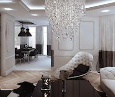 Salon styl Art deco - zdjęcie od MOCO Architecture