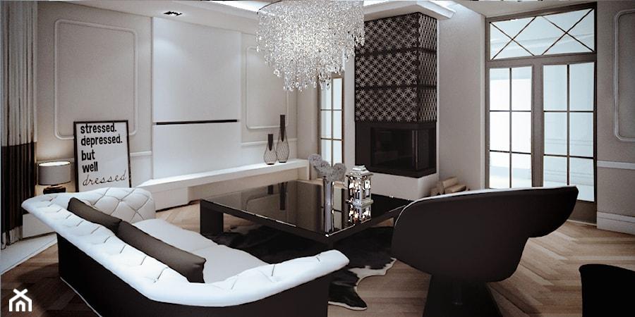 moco 01 salon styl art deco zdj cie od moco architecture homebook. Black Bedroom Furniture Sets. Home Design Ideas