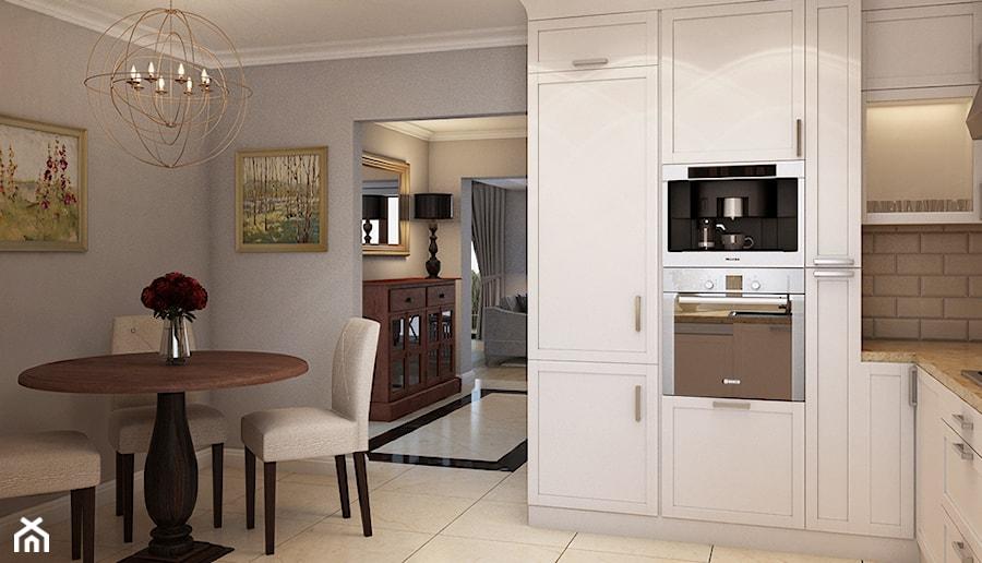 Dom w Strzegomiu  Kuchnia, styl klasyczny  zdjęcie od   -> Kuchnia Kaflowa Samson