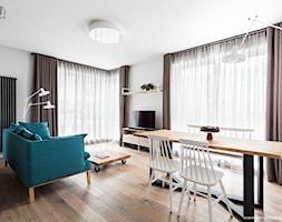 Skandynawska Jadalnia połączona z salonem - zdjęcie od Hoom