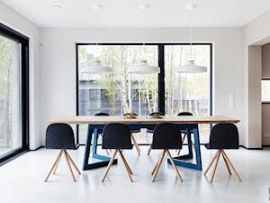 Projekt GREEN/BLUE pracownii Kasia Orwat Home Design - zdjęcie od hoom