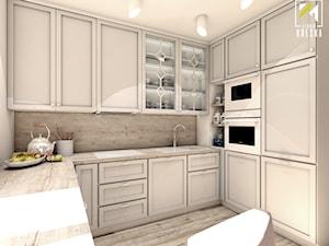 Kuchnia w kwiatach - Kuchnia, styl klasyczny - zdjęcie od kreska.studio