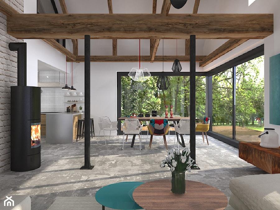 Projekt modernizacji przedwojennego domu. - zdjęcie od Pracownia OFFee