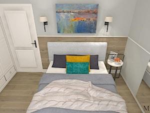 Sypialnia z drewnem 2