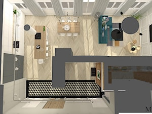 Mieszkanie w kamienicy typu open space
