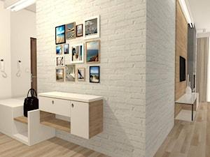 Mieszkanie w bloku z elementami szarości