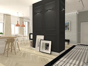 Apartament z czernią