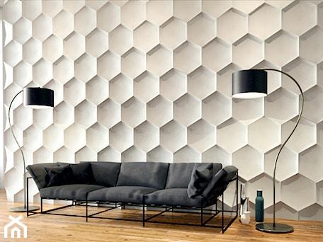 Aranżacje wnętrz - Salon: Hexagon - Salon - Artpanel.pl. Przeglądaj, dodawaj i zapisuj najlepsze zdjęcia, pomysły i inspiracje designerskie. W bazie mamy już prawie milion fotografii!