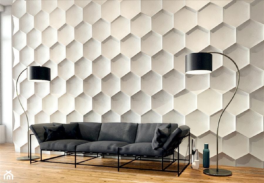 Hexagon - Salon - zdjęcie od Artpanel.pl