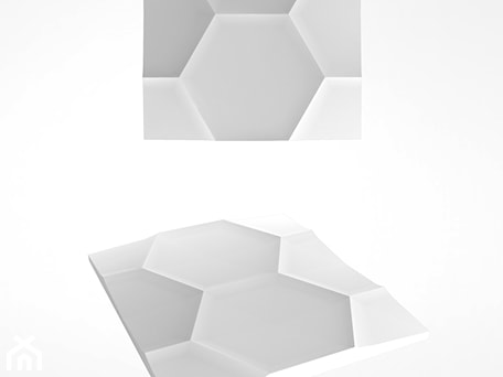 Aranżacje wnętrz - Sypialnia: Hexagon - Artpanel.pl. Przeglądaj, dodawaj i zapisuj najlepsze zdjęcia, pomysły i inspiracje designerskie. W bazie mamy już prawie milion fotografii!