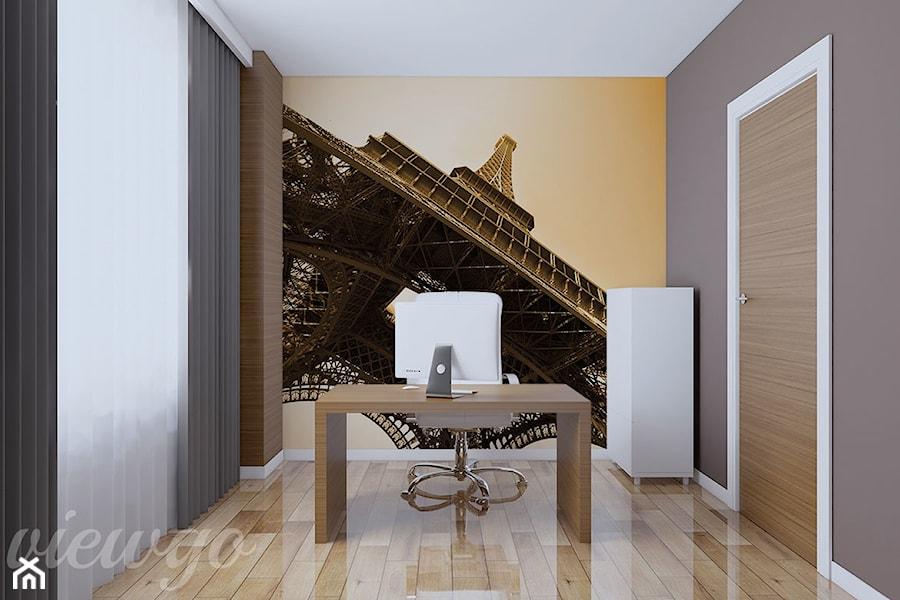 Aranżacje wnętrz - Biuro: Paryska doskonałość - Viewgo. Przeglądaj, dodawaj i zapisuj najlepsze zdjęcia, pomysły i inspiracje designerskie. W bazie mamy już prawie milion fotografii!