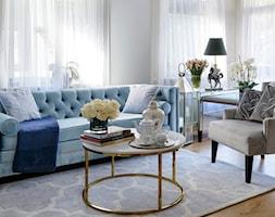 Apartament w Gdańsku - Salon, styl glamour - zdjęcie od MODERN CLASSIC HOME - Homebook