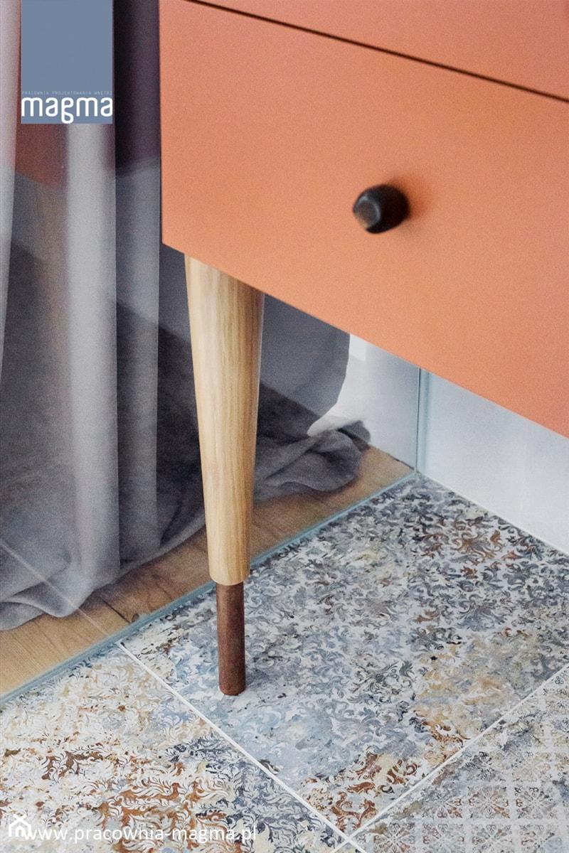 MODERNISTYCZNY APARTAMENT W CENTRUM GDYNI - Łazienka, styl nowoczesny - zdjęcie od magma pracownia wnętrz