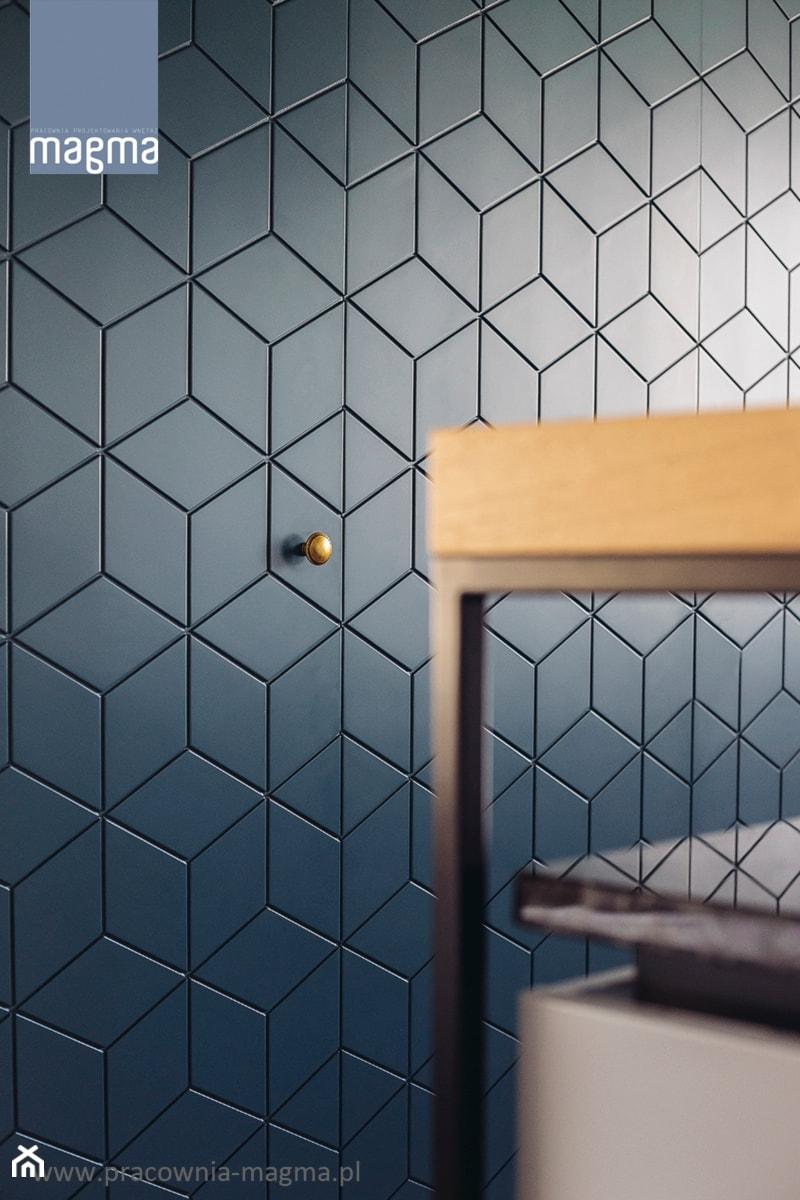 MODERNISTYCZNY APARTAMENT W CENTRUM GDYNI - Kuchnia, styl nowoczesny - zdjęcie od magma pracownia wnętrz