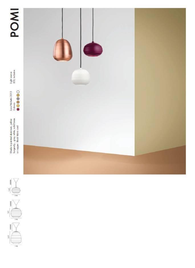 lampa ZERO Lighting POMI - zdjęcie od MAdeco - Homebook